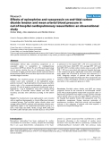 """Báo cáo khoa học: """" Effects of epinephrine and vasopressin on end-tidal carbon dioxide tension and mean arterial blood pressure in out-of-hospital cardiopulmonary resuscitation: an observational study"""""""