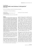 "Báo cáo khoa học: ""Improved cardiac arrest outcomes: as time goes by"""