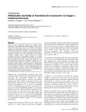 "Báo cáo khoa học: ""Attributable mortality of Acinetobacter baumannii: no longer a controversial issue"""