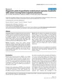 """Báo cáo khoa học: """"Diagnostic yield of quantitative endotracheal aspirates in patients with severe nursing home-acquired pneumonia"""""""