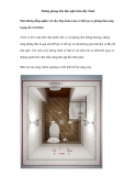Những phòng tắm tiện nghi chưa đầy 10m2