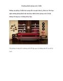 10 phòng khách phong cách cổ điển