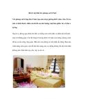 Bố trí nội thất cho phòng cưới 15m2