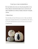 Ý tưởng 'rùng rợn' trang trí căn phòng Halloween