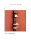 Kệ treo tường đơn giản và ấn tượng (P 2)