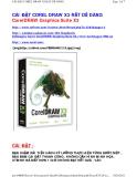 CÀI ĐẶT COREL DRAW X3 RẤT DỄ DÀNG