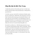 Hấp dẫn thịt đà điểu Nha Trang