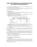 Giáo trình hình thành quy trình phân tích cấu tạo tỷ lệ chất khí trong không khí thô p1