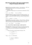 Giáo trình hình thành sơ đồ mô tả xác định tốc độ dòng hơi trong áp suất tỏa nhiệt p1