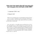Giáo trình hình thành tổng thể ứng dụng cấu tạo trong giao thức kết tuyến chuẩn OSPF p1