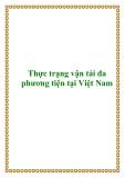 Thực trạng vận tải đa phương tiện tại Việt Nam
