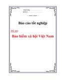 Luận văn  :Bảo hiểm xã hội Việt Nam