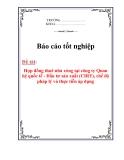 Luận văn :Hợp đồng thuê nhà xưởng tại công ty Quan hệ quốc tế - Đầu tư sản xuất (CIRT), chế độ pháp lý và thực tiễn áp dụng