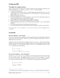 UNIX System administration P6