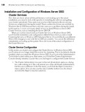 Windows Server 2003 Clustering & Load Balancing PHẦN 5