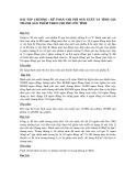 Bài tập kế toán chi phí - Chương 5: Kế toán chi phí sản xuất và tính giá thành sản phẩm theo chi phí ước tính