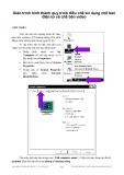 Giáo trình hình thành quy trình điều chế sử dụng chế bản điện tử và chế bản video p1