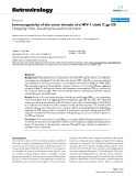 """Báo cáo y học: """" Immunogenicity of the outer domain of a HIV-1 clade C gp120"""""""