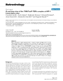"""Báo cáo y học: """" A real-time view of the TAR:Tat:P-TEFb complex at HIV-1 transcription sites"""""""