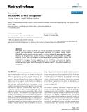 """Báo cáo y học: """" microRNAs in viral oncogenesis"""""""