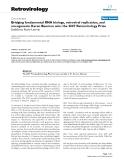"Báo cáo y học: "" Bridging fundamental RNA biology, retroviral replication, and oncogenesis: Karen Beemon wins the 2007 """