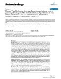 """Báo cáo y học: """"Human T-cell leukemia virus type 2 post-transcriptional control protein p28 is required for viral infectivity and persistence in vivo"""""""