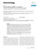 "Báo cáo y học: ""Pvt1-encoded microRNAs in oncogenesis"""