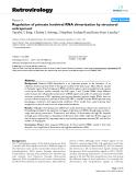 "Báo cáo y học: "" Regulation of primate lentiviral RNA dimerization by structural entrapment"""