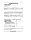 Giáo trình công nghệ kim loại 2 - Chương 1