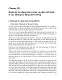 Kinh tế và quản lý môi trường ( Chủ biên PGS.TS. Nguyễn Thế Chinh ) - Chương 3