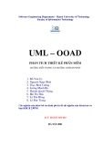 UML – OOAD phân tích thiết kế phần mềm - Chương 1