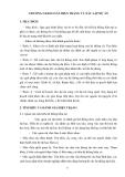 Phân tích thiết kế hệ thống thông tin - Chương 2