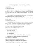 Phân tích thiết kế hệ thống thông tin - Chương 7