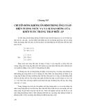 Thủy lực 1 ( Nxb Nông nghiệp ) - Chương 7