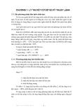 BÀI GIẢNG KỸ THUẬT LẠNH ( ThS. Trần Thế Truyền ) - CHƯƠNG 1