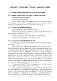 BÀI GIẢNG KỸ THUẬT LẠNH ( ThS. Trần Thế Truyền ) - CHƯƠNG 2