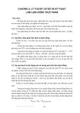 BÀI GIẢNG KỸ THUẬT LẠNH ( ThS. Trần Thế Truyền ) - CHƯƠNG 4