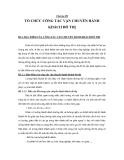 Tổ chức vận chuyển hành khách du lịch bằng đường sắt - Chương 3