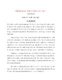Vật lí điện tử  và bán dẫn - Chương 2