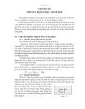 Vật lý phân tử và nhiệt học - Chương 3