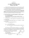 Vật lý phân tử và nhiệt học - Chương 4