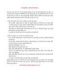 Lý Thuyết Tín Dụng Ngân Hàng: DANH MỤC HỒ SƠ PHÁP LÍ