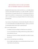 Lý Thuyết Tín Dụng Ngân Hàng: MỘT SỐ NỘI DUNG CHỦ YẾU CẦN NÊU TẠI TỜ TRÌNH BÁO CÁO THẨM ĐỊNH