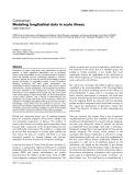 "Báo cáo y học: ""Modeling longitudinal data in acute illness"""