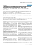 """Báo cáo y học: """"Pharmacokinetics and pharmacodynamics of danaparoid during continuous venovenous hemofiltration: a pilot study"""""""