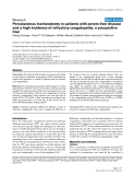 """Báo cáo y học: """"Percutaneous tracheostomy in patients with severe liver disease and a high incidence of refractory coagulopathy: a prospective trial"""""""