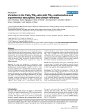 """Báo cáo y học: """"Variation in the PaO2/FiO2 ratio with FiO2: mathematical and experimental description, and clinical relevance"""""""