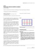"""Báo cáo y học: """"Fast-track microcirculation analysis"""""""