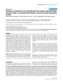 """Báo cáo y học: """" Alveolar recruitment can be predicted from airway pressure-lung volume loops: an experimental study in a porcine acute lung injury model"""""""