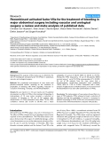 """Báo cáo khoa học: """"Recombinant activated factor VIIa for the treatment of bleeding in major abdominal surgery including vascular and urological"""""""